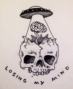 39 Best Ideas For Trippy Art Alien Psychedelic Kunst Tattoos, Tattoo Drawings, Cool Drawings, Body Art Tattoos, Finger Tattoos, Cool Tattoos, Alien Drawings, Trippy Drawings, Medical Drawings