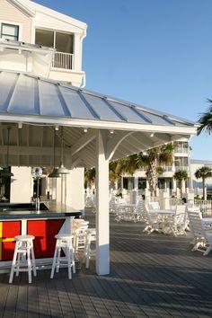 Have a few drinks at the Tiki Bar and enjoy the Marina at St. James Plantation.