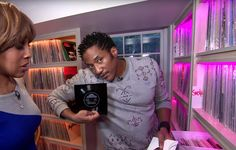 Q-Tip Offers a Tour of His Record Collection and Home Studio