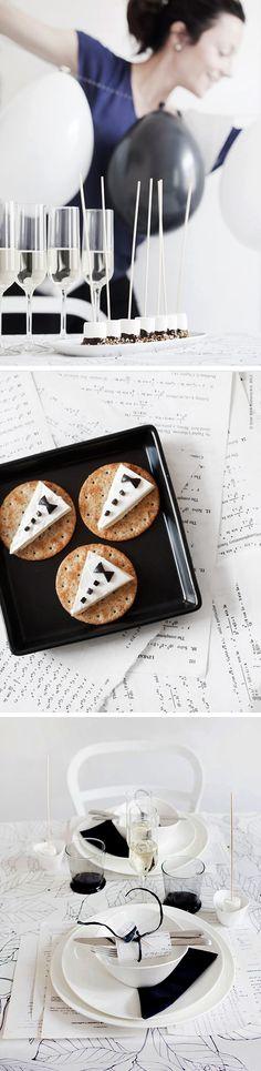 "Great use for those delectable little ""La Vache Qui Rit"" cheese triangles! Via Trendenser.se"