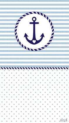Image about pretty in background by miino on We Heart It Anchor Wallpaper, Nautical Wallpaper, Nautical Cards, Nautical Theme, Nautical Baptism, Cellphone Wallpaper, Iphone Wallpaper, Summer Wallpaper, Screen Wallpaper