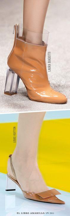 Michael Kors y Louis Vuitton se inspiraron en los cuanetos de hadas para crear estas originales propuestas de zapatos. - El Libro Amarillo P/V 2013 - El Palacio de Hierro