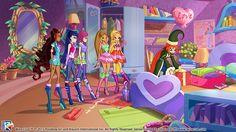 December 9 gift from the Winx Club! (Source: http://www2.winxclub.com/eventi/advent12/) #WinxClub #Christmas