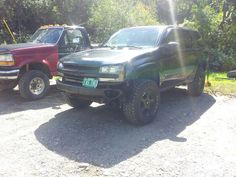 4 in lift and 33s