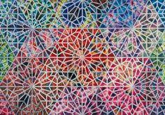 philip taaffe | Philip Taaffe: Cairene Panel I, 2008