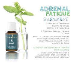 Essential oils for adrenal fatigue.