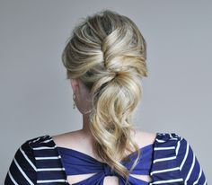 How to Do the Glam Ponytail / Real Simple