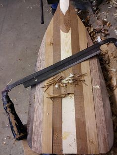 The draw knife brings the paddle to life. by The Jer, via Flickr