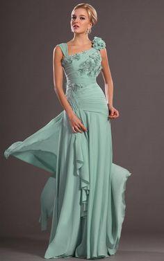 Meerjungfrau Sweep Zug plissiertes anständiges Ballkleid/ Abendkleid mit tiefer Taille