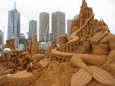 sandcastle ~ Melbourne, Australia