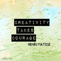 Creativity takes cou