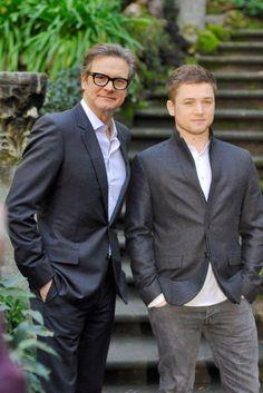 Colin Firth e Taron Egerton