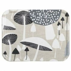 Almedahls 'The Mushroom Forest' Trays -HUS & HEM- Scandinavian Design For The House And Home