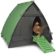 100% Recycled Chicken Coop by Churchill designed in the UK. $599