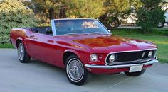 A '69 Mustang...as classic as it comes. I'm thinking Thelma and Louise the sequel...