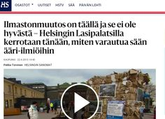 HSY:n Ilmastoinfo järjesti 22.4.2015 tapahtuman, jossa opetettiin varautumaan sään ääri-ilmiöihin. Communiké vastasi tapahtuman medianäkyvyydestä. Helsingin Sanomien nettijuttu 22.4.