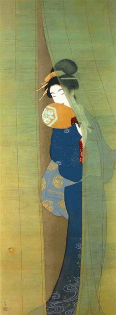 theantidote: Shoen Uemura (via artemisdreaming :)