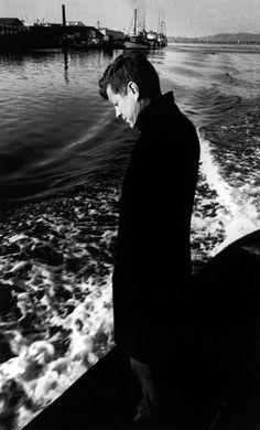 John F. Kennedy in Coos Bay, Oregon, 1959