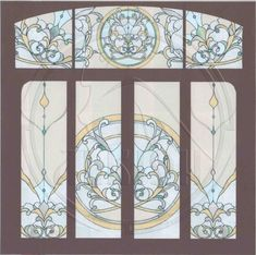 Click to close image, click and drag to move. Use arrow keys for next and previous. Stained Glass Patterns, Stained Glass Art, Mosaic Glass, Arched Windows, Leaded Glass, Glass Etching, Xmas Decorations, Arrow Keys, Close Image