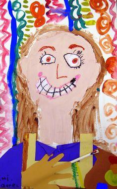 Cassie Stephens: In the Art Room: Kindergarten Self-Portraits as Artists