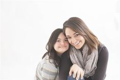 Katie Driscoll tomou esta foto de uma mãe e seu filho com Síndrome de Down para uso em publicidade