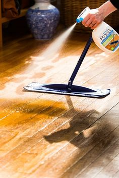 Breathtaking Best Product To Clean Hardwood Floor The Ultimate Guide Cleaning Bona Apartment Therapy Leather Car Seat Shower And Shine Oven Laminate Tile Window Grout Best Hardwood Floor Cleaner, Hardwood Floor Care, Clean Hardwood Floors, Wood Laminate Flooring, Diy Flooring, Flooring Types, Clean Wood, Flooring Ideas, Bona Floor