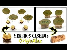 Cartelitos para mesas originales - YouTube