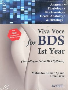 VIVA VOCE for #BDS Ist Year #Students - A Truly Useful for Understudy and to Score Well - #DentKart