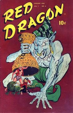 Cover for Red Dragon Comics (Street and Smith, 1947 series) #6