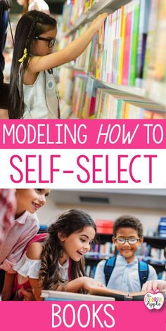 To create life-long readers, students need to be able to self-select their own books.  It's important that we model the different ways in which we go about choosing a book that we are interested in reading.  Self-selecting books will lead to more engaged readers and more motivated readers in our classrooms.