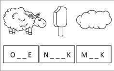 hádej slova Struktura, Math Equations