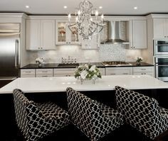 in love with these barstools.