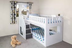 Necessity Of Children Bunk Beds 13 Toddler Room Ingenious Bunk Bed With .Necessity Of children Bunk beds 13 kind room Ingenious bunk bed with slide size in white for an additional chargeWe Bunk Beds With Stairs, Cool Bunk Beds, Baby Bunk Beds, Double Bunk Beds, Toddler Bunk Beds, Bunk Beds For Toddlers, Kura Bed, Ikea Bunk Bed, Kids Bedroom Ideas
