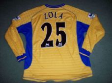 2000 2001 Chelsea L/s Zola Adults XL Football Shirt Top Italy Maglia