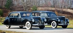 While it's a bit cliche to look at every big black closed car from the Thirties and Forties as a mobster's ride, some cars seem naturally suited to those roles. Such was the case with the 1941 Lincoln Continental coupe and 1941 Lincoln Custom limousine that appeared in Francis Ford Coppola's 1972 epic The Godfather.