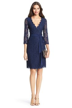 evaChic | This Diane von Furstenberg Julianna Lace Wrap Dress is a classic stand-out! http://www.evachic.com/product/diane-von-furstenberg-julianna-wrap-lace-dress/