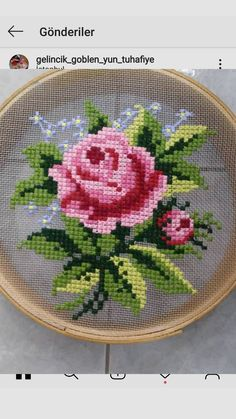 Brazilian Embroidery Stitches, Basic Embroidery Stitches, Baby Embroidery, Embroidery Techniques, Small Cross Stitch, Cross Stitch Rose, Cross Stitch Designs, Cross Stitch Patterns, Hand Embroidery Patterns Flowers