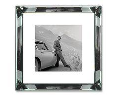 "Fotografia w lustrzanej ramie ""James Bond Aston Martin"""