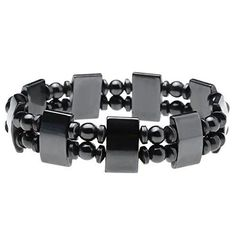 JOVIVI Hematite Super Strong Metal Magnetic Healing Therapy Bracelet Pain Relief Pack of 2 ** You can find more details by visiting the image link. (This is an affiliate link and I receive a commission for the sales) Stainless Steel Nails, Stainless Steel Bracelet, Tungsten Bracelet, Magnet Therapy, Natural Pain Relief, Healing Bracelets, Silver Man, Bracelets For Men, Metal