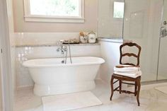 New House with Old World Details - traditional - bathroom - houston - Cedar Hill Interiors