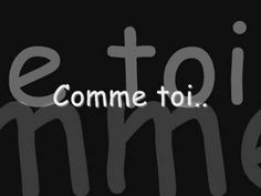 ▶ Jean-Jacques Goldman - Comme Toi (Paroles) - YouTube