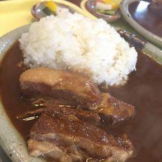 まんま亭の角煮カレー