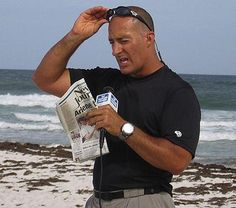 Feb 5-Happy Wetherman's Day - there is only ONE weatherman - I trust Jim Cantore - weather Jim Cantore, People Of Interest, The Weather Channel, Tv Presenters, Matthew Mcconaughey, Celebs, Celebrities, Man Candy, Net Worth