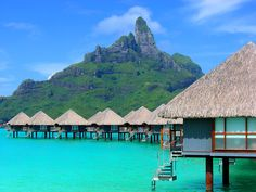 Le Méridien Resort Bora Bora by firefly242-02  #honeymoon