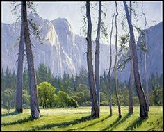 Go for awesome in your landscape paintings. Here are some tips! Looks Like Heaven by John Budicin, 2002, oil painting, 32 x 40.