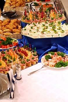 It's not a party with out food.. Finger foods to be exact!!