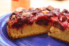 Simple Summer Plum Cake Recipe