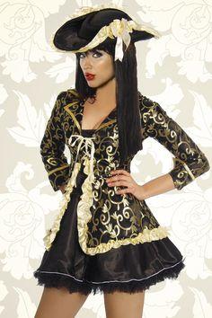 #Piratenkostüm https://www.burlesque-dessous.de/kostueme/fasching-halloween/piraten-matrosen/piratenkostuem