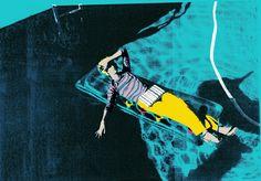 Kate Gibb silkscreen