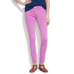 Raspberry [blanknyc] Skinny Color Jeans #Madewell